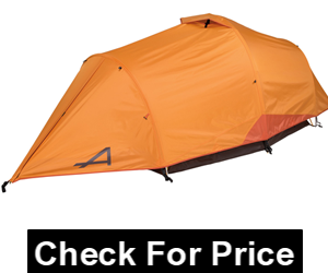 "ALPS Mountaineering Tasmanian 3-Person Tent, Base Size 6'7 x 7'8, Center Height 54"", Weight 9 lbs 14 oz, Color Copper/Rust"