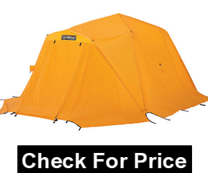 Arctic Oven 12 with Vestibule Tent,200-denier heavy-duty 4 oz,urethane coated oxford nylon.