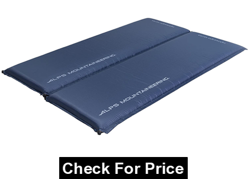 ALPS Mountaineering Lightweight Series Self-Inflating Air Pad, Various Size, durable, lightweight and abrasion resistant Polyester Ripstop fabric