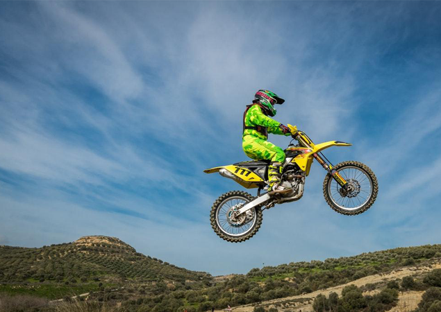 Motocross riding safety suits
