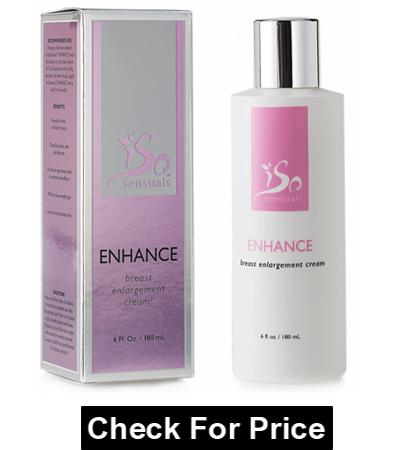 IsoSensuals Enhance Breast Enlargement Cream, 6 Fl Oz (Pack of 1), Unisex