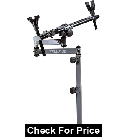 BOG FieldPod Adjustable Shooting Rests for Tree Stand, Height:20-42inch, Weight:15 lbs