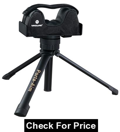 Vanguard Porta Aim Gun Rest, Color: Black, Compact and Portable Bench Rest