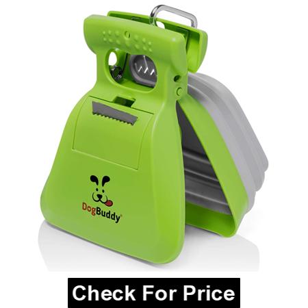 DogBuddy Pooper Scooper, Portable Dog Poop Scooper, Heavy Duty Dog Waste Cleaner