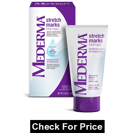 Mederma Stretch Marks Therapy to Prevent Stretch Marks, Ivory, 5.29 Ounce, paraben free Therapy, perfect for moms