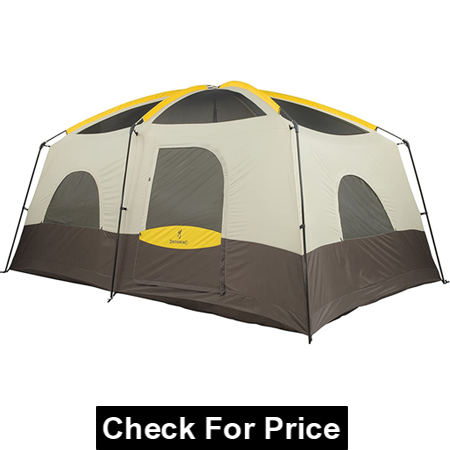 Browning Camping Big Horn Tent for Tropical Climate, Black/Orange Color
