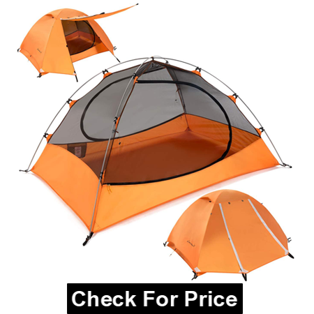 Clostnature Lightweight Backpacking Tent for Hot Weather