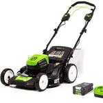 Greenworks Pro 80V walk behind lawn mower