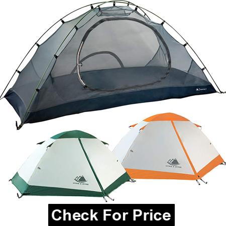 Hyke & Byke Yosemite 1 and 2 Person Backpacking Tents, Material: Waterproof Nylon