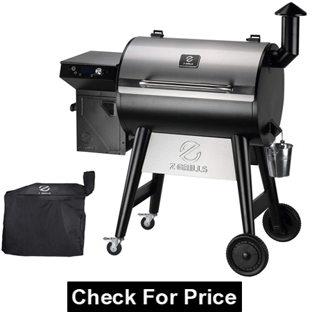 Z GRILLS 2021 7002 Series Wood Pellet Grill and Smoker
