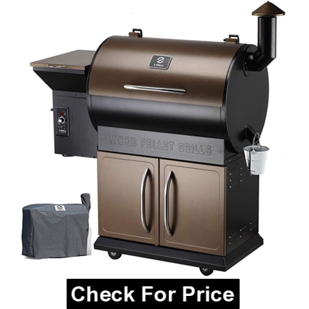 Z Grills Wood Pellet Grill Smoker with 2020 Newest Digital Controls, BBQ for Outdoor