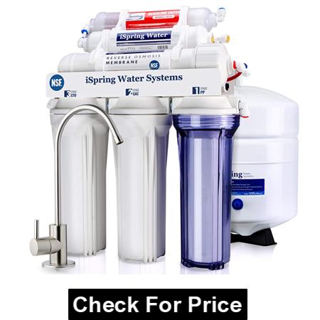 iSpring RCC7AK 6-Stage Under Sink Reverse Osmosis Drinking Water Filter