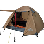 CAMPPAL tent for rain and winds