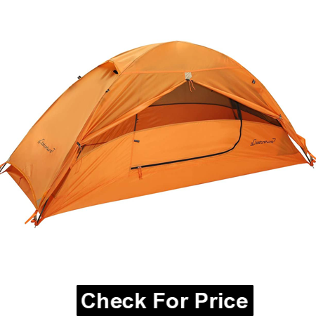 Clostnature 1-Person Tent for Backpacking, Ultralight One Person Backpacking Tent