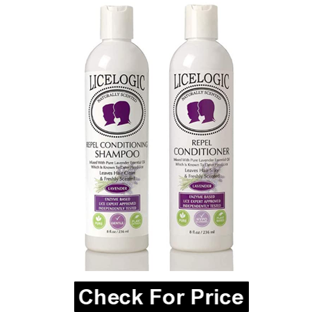 LiceLogic Lice Prevention Shampoo and Conditioner, Safe for Daily Use