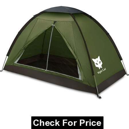 Night Cat Backpacking Tent for One, Lightweight Waterproof Camping Hiking Tent