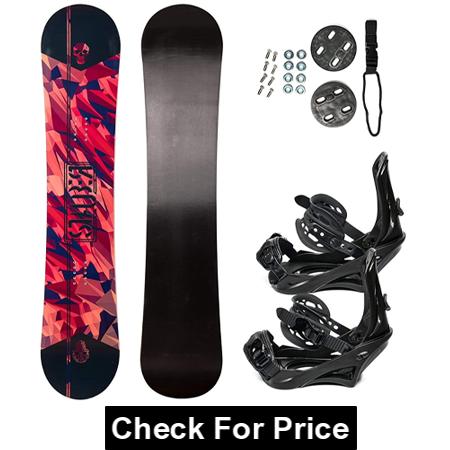 STAUBER Summit Snowboard & Binding Package Size