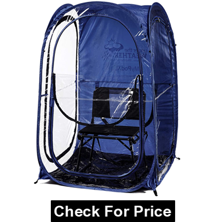 Under the Weather MyPod XL - Pop-Up Weather Pod, Protection from Cold, Wind and Rain