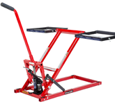 Lawn Mower Lift 350 Lbs Capacity